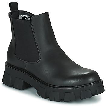 Shoes Women Mid boots Emmshu KALEB Black
