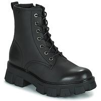 Shoes Women Mid boots Emmshu KING Black