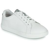 Shoes Women Low top trainers Bons baisers de Paname SIMONE EYES White