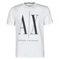 Clothing Men Short-sleeved t-shirts Armani Exchange HULO White