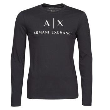 Clothing Men Long sleeved tee-shirts Armani Exchange 8NZTCH Marine