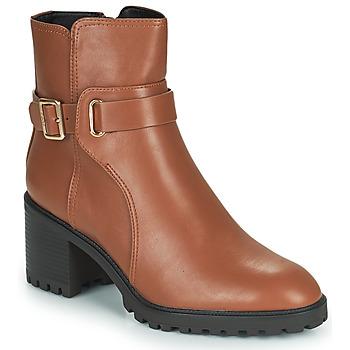 Shoes Women Ankle boots Esprit TREPINA Cognac
