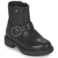 Shoes Girl Mid boots Gioseppo LONTZEN Black