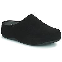 Shoes Women Clogs FitFlop SHUV FELT Black