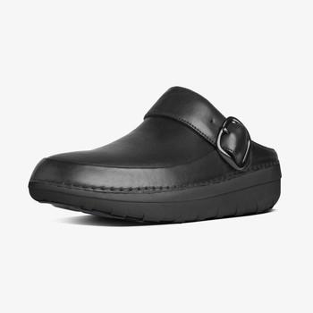 Shoes Women Clogs FitFlop  Black
