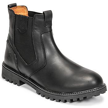 Shoes Men Mid boots Lumberjack RIVER BEATLES Black