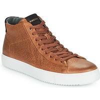 Shoes Men Hi top trainers Blackstone VG06-CUOIO Brown