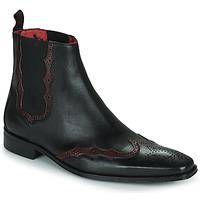 Shoes Men Mid boots Jeffery-West   black / Red