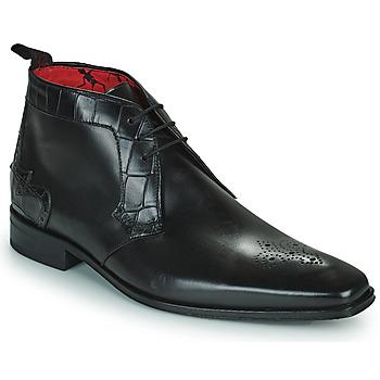 Shoes Men Mid boots Jeffery-West   black