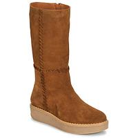 Shoes Women High boots Castaner NUCHA Cognac