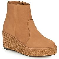 Shoes Women Mid boots Castaner NICOLA Cognac