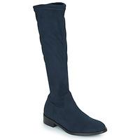 Shoes Women High boots JB Martin AMOUR Blue