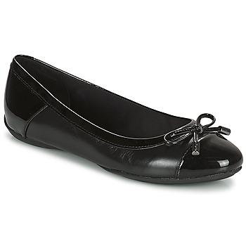 Shoes Women Flat shoes Geox CHARLENE Black