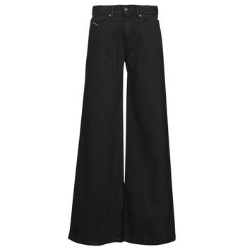 Clothing Women Bootcut jeans Diesel D-AKEMI Black