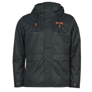 Clothing Men Jackets Columbia SOUTH CANYON LINED JACKET Black