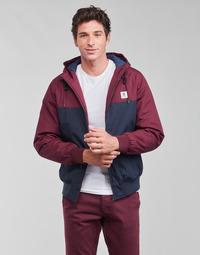Clothing Men Jackets Element DULCEY TWO TONES Bordeaux