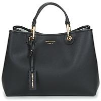 Bags Women Handbags Emporio Armani MYEA BORSA SHOPPING Black