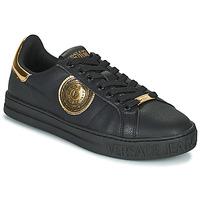 Shoes Men Low top trainers Versace Jeans Couture REMI Black