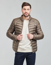 Clothing Men Duffel coats JOTT MAT Taupe / Orange