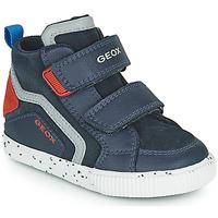 Shoes Boy Hi top trainers Geox KILWI Marine