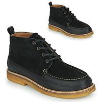 Shoes Men Mid boots Kickers HORIZOU Black