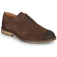 Shoes Men Brogues Kickers ALPHAPEN Brown