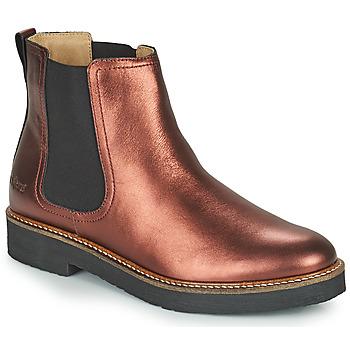 Shoes Women Mid boots Kickers OXFORDCHIC Purple