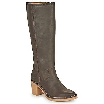 Shoes Women High boots Kickers AVEDRIM Brown
