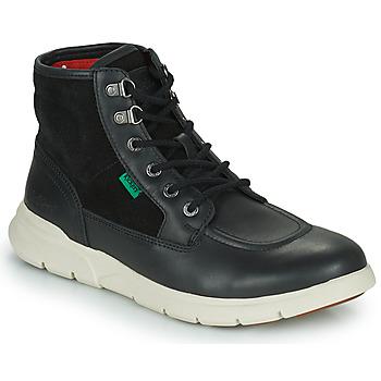 Shoes Men Mid boots Kickers KICKI HI 4 Black