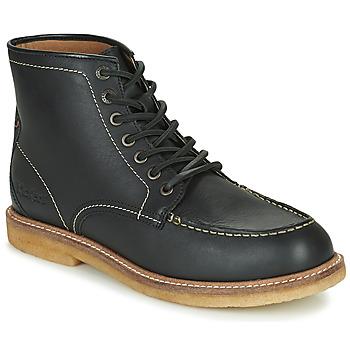 Shoes Men Mid boots Kickers HORUZY Black