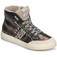 Shoes Women Hi top trainers Meline CAR1425 Black