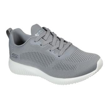 Shoes Women Low top trainers Skechers BOBS SQUAD TOUGH TALK Grey