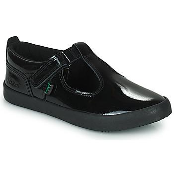 Shoes Girl Flat shoes Kickers  Black
