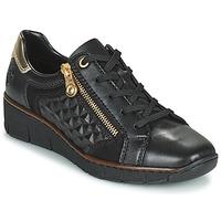 Shoes Women Low top trainers Rieker THOMANISA Marine