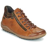 Shoes Women Mid boots Rieker KAMELO Brown