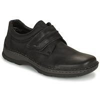 Shoes Men Derby Shoes Rieker EARNA Black
