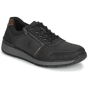 Shoes Men Derby Shoes Rieker FOLLON Black