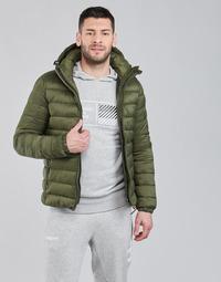 Clothing Men Duffel coats Superdry CLASSIC FUJI PUFFER JACKET Black