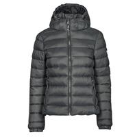 Clothing Women Duffel coats Superdry CLASSIC FUJI PUFFER JACKET Grey