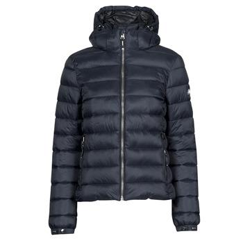 Clothing Women Duffel coats Superdry CLASSIC FUJI PUFFER JACKET Blue