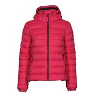 Clothing Women Duffel coats Superdry CLASSIC FUJI PUFFER JACKET Pink
