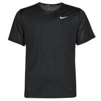 Clothing Men Short-sleeved t-shirts Nike  Black