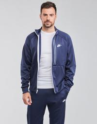 Clothing Men Jackets Nike  Blue