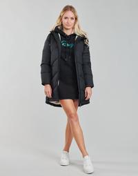 Clothing Women Coats Roxy STORM WARNING Black