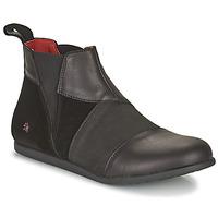 Shoes Women Mid boots Art LARISSA Black