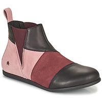 Shoes Women Mid boots Art LARISSA Purple / Black