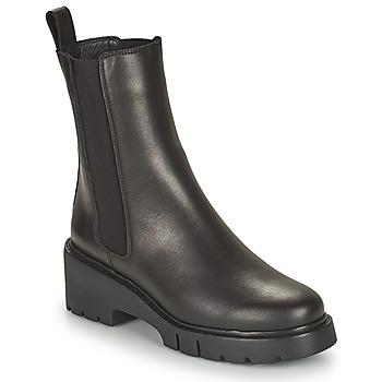 Shoes Women Mid boots Unisa JOSTO Black