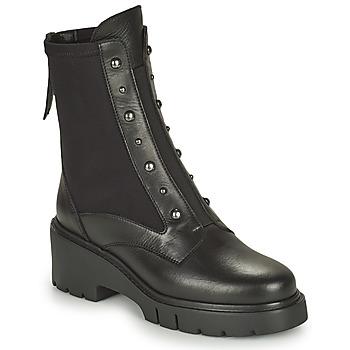 Shoes Women Mid boots Unisa JARBE Black