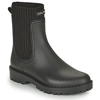 Shoes Women Wellington boots Unisa AYNAR Black
