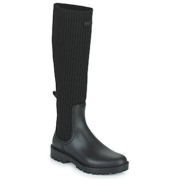 Shoes Women Wellington boots Unisa ALERCE Black